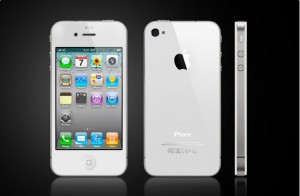 Vit iPhone 4