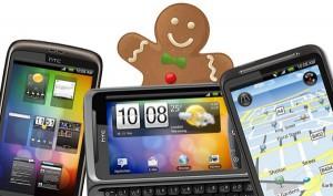 HTC Desire-familjen får Gingerbread i slutet av Juni