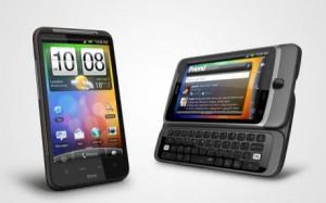 HTC Desire HD och Desire Z