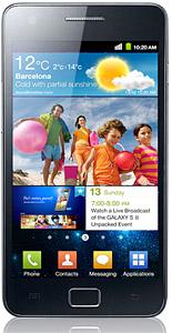 Samsung Galaxy S2 framsida