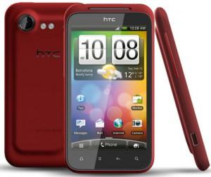 Röd HTC Incredible S