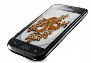 Samsung Galaxy S ryktas få Android 2.3 Gingerbread i Mars
