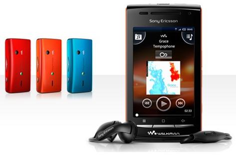 Sony Ericsson W8 Walkman i olika färger