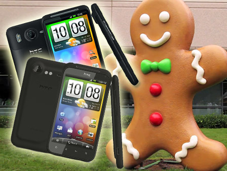 HTC Desire HD och Incredible S har nu Android 2.3 Gingerbread