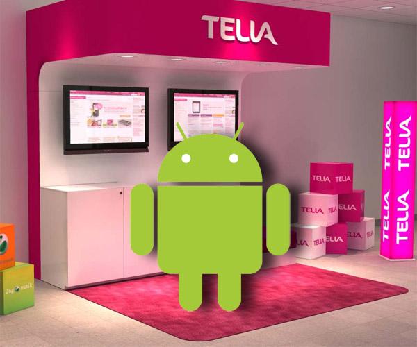 Android-mobiler säljer bra hos Telia