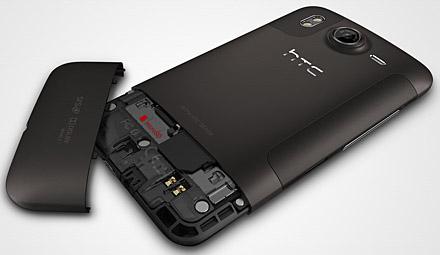 Inuti HTC Desire HD
