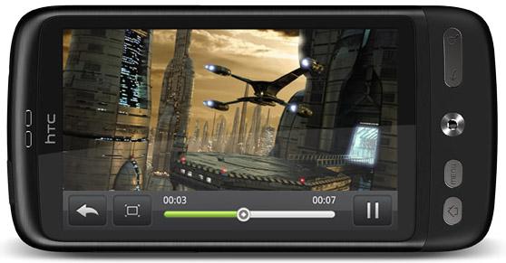 YouTube i HD på HTC Desire HD