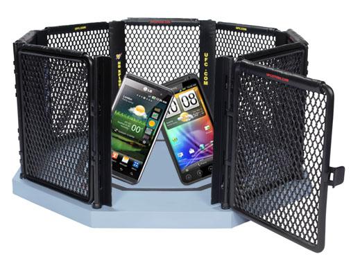 HTC Evo 3D och LG Optimus 3D går i clinch i denna jämförelse av specar