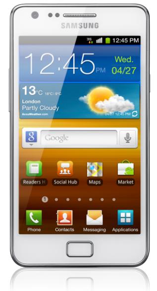 Vit Samsung Galaxy S II