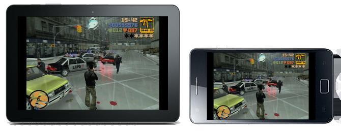 Klassikern GTA III till Android och iOS-enheter
