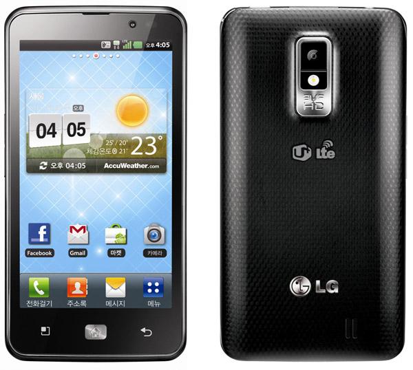 Bild från när den fortfarande hette LG Optimus LTE