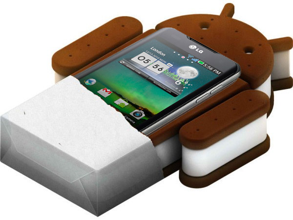 Ice cream sandwhich officiell för LG Optimus 2X och andra high-end-modeller från LG