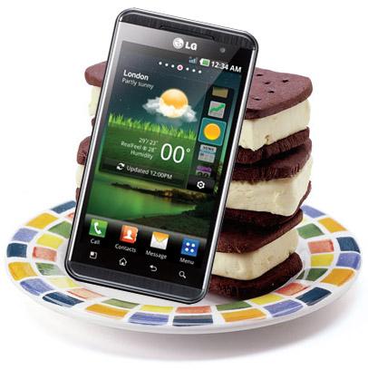 Flera av LG:s Optimus-modeller kommer får Android 4.0 Ice cream sandwich