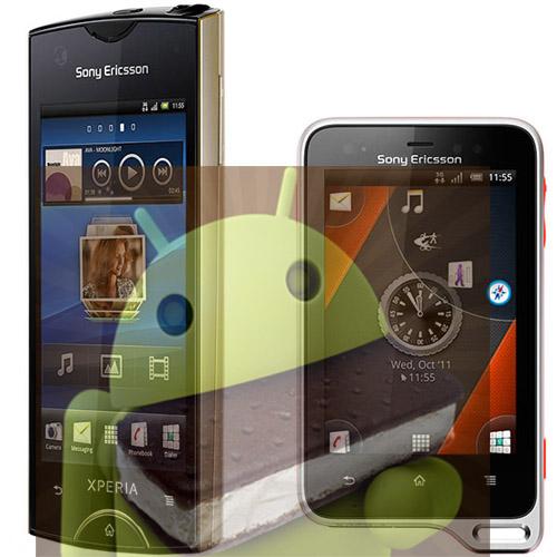 Datum för Android 4.0 Ice cream sandwich för Sony Ericsson:s Xperia-modeller blir mer detaljerade