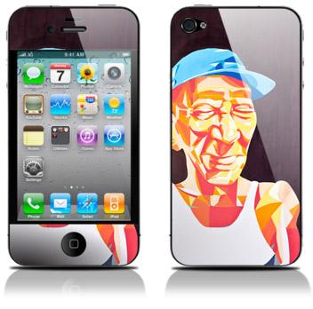 iPhone 4 skin, Åker av designern Sam hos WeSkins