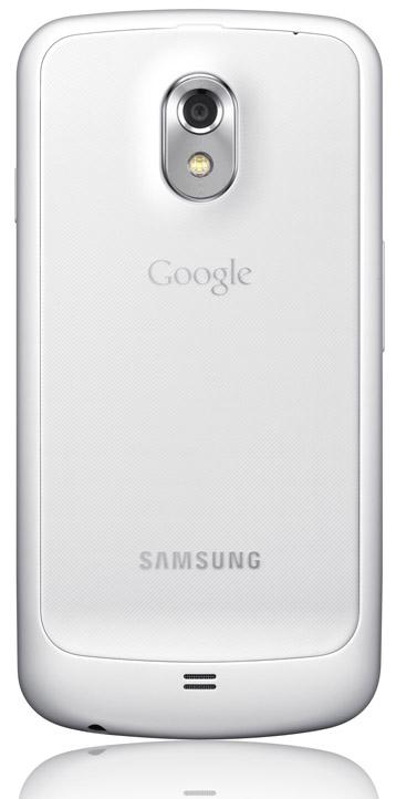 Vit Samsung Galaxy Nexus baksida