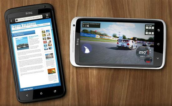 HTC One X lär göra surf och spel maffiga och smidiga