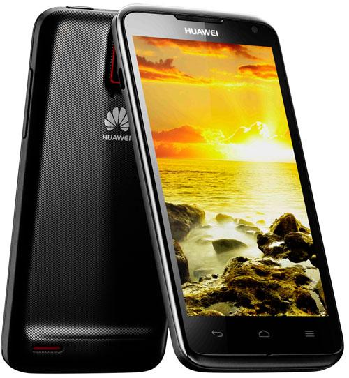 Huawei Ascend D-Quad: En fyrkärnig mobil med Ice cream sandwich