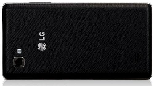 LG Optimus 4X HD baksida