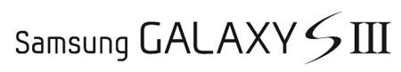 Samsung Galaxy S III logotyp (montage)