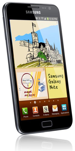 Samsung Galaxy Note har efter fem månader sålt i hela fem miljoner exemplar