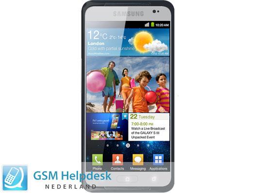 Beryktad rendering av Samsung Galaxy S III