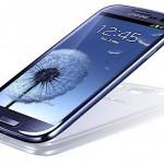 Samsung Galaxy S III lutande