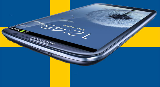 Samsung Galaxy S III släpps idag i Sverige
