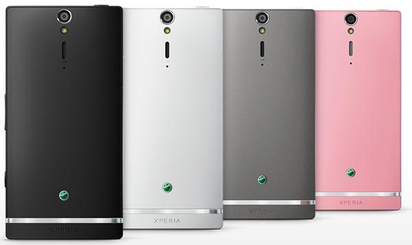 Sony Xperia SL baksida