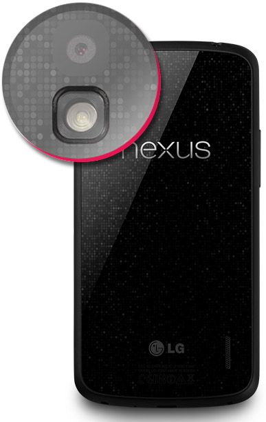 Nexus 4 baksida