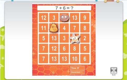 Bingo math - ett roligt mattespel kombinerat med bingo