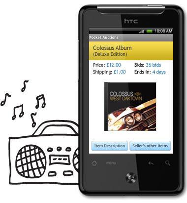 Musik i HTC Gratia