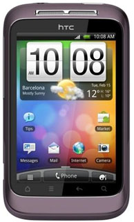 Lila HTC Wildfire S