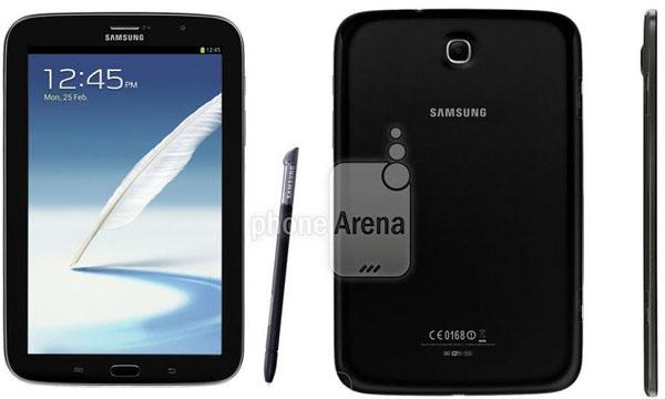 Svart Samsung Galaxy Note 8
