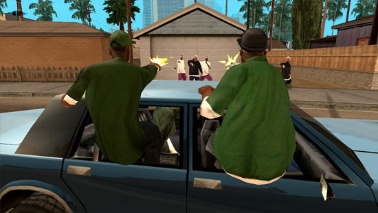 GTA: San Andreas Android screenshot