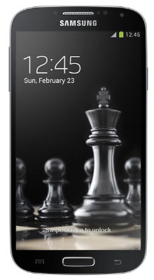 Svart Samsung Galaxy S4